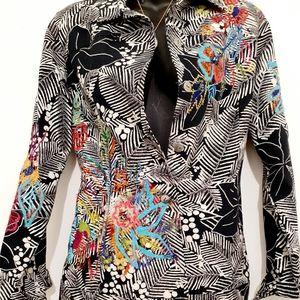 Vintage Artist handmade Denim Jacket
